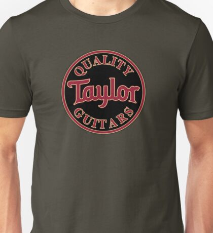 Quality Taylor Guitar Unisex T-Shirt