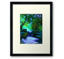 Wishing Waters Framed Print