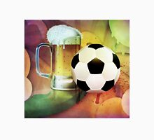 Beer Glass and Soccer Ball Unisex T-Shirt