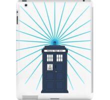 Tardis - Circular Light Effect iPad Case/Skin