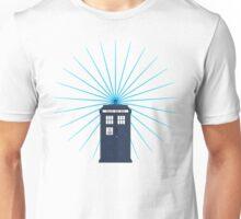 Tardis - Circular Light Effect Unisex T-Shirt