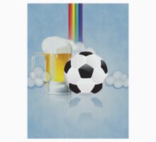 Beer Glass and Soccer Ball 2 One Piece - Long Sleeve