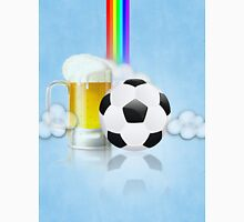 Beer Glass and Soccer Ball 2 Unisex T-Shirt