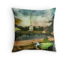 To Wish Impossible Things (art, poetry & music) Throw Pillow