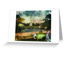 To Wish Impossible Things (art, poetry & music) Greeting Card