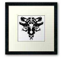 Rawrschach Test Framed Print