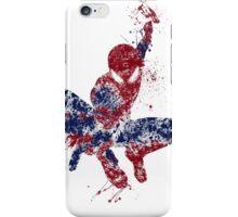 Spider-Man Splatter Art Color iPhone Case/Skin