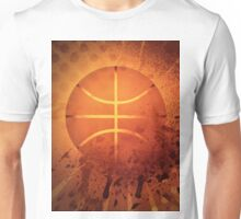 Grunge Basketball Unisex T-Shirt