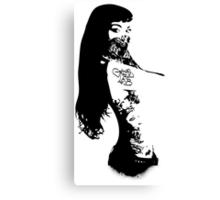 Pin-Up Bandita Canvas Print