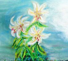 Lillies by Gretchen Smith