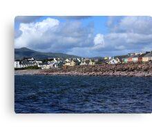 Irish Seaside Village Co Kerry Canvas Print