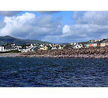 Irish Seaside Village Co Kerry Photographic Print