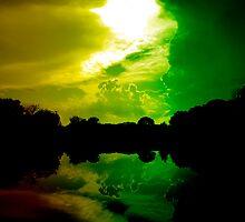 Rasta Clouds by Trenton Purdy