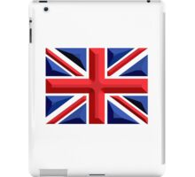 British, Union Jack, Chisel Hard, UK, United Kingdom, Flag, Blighty iPad Case/Skin