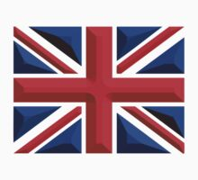 British, Union Jack, Chisel Hard, UK, United Kingdom, flag by TOM HILL - Designer