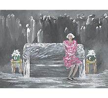 Mistress of the Deceased Photographic Print