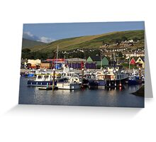 Dingle Harbour County Kerry Ireland Greeting Card