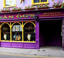 Colorful Irish Pub by aidan  moran