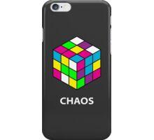 Rubik's Cube Chaos iPhone Case/Skin