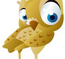 Funny owl by Vitalia