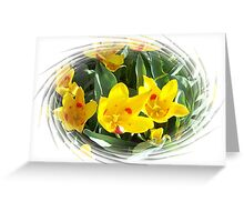 Spring Tulips For Mom Greeting Card
