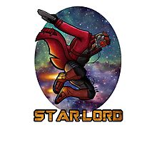 Guardians of the Galaxy-Starlord Photographic Print