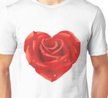 Heart - rose Unisex T-Shirt