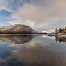 Eilean Donan Castle in Winter. Dornie. Scotland. by photosecosse /barbara jones