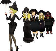 On Wednesdays We Wear Black by Dan Paul  Roberts