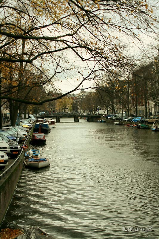 Amsterdam Canal by longaray2