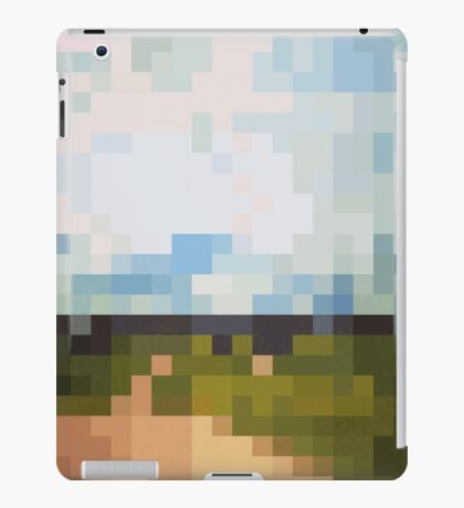 Digital Landscape #6 iPad Case/Skin