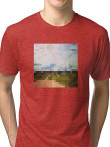 Digital Landscape #6 Tri-blend T-Shirt