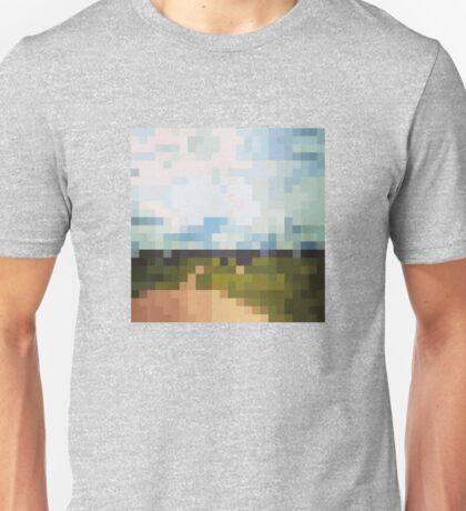 Digital Landscape #6 Unisex T-Shirt
