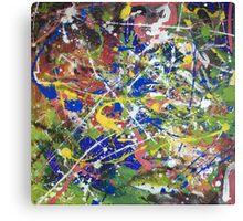 Chaos 8 Canvas Print