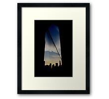 where you are Framed Print