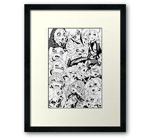 Ahegao Pervert (manga) Framed Print