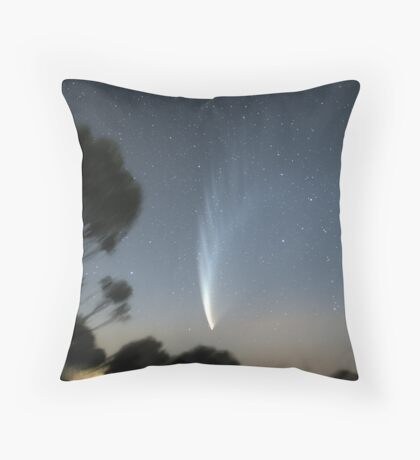 Comet McNaught from Mt Macedon Throw Pillow