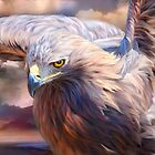 Spirit Of The Golden Eagle by Carol  Cavalaris