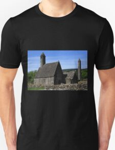 St Kevins Church And Round Tower T-Shirt
