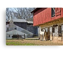Hopewell Furnace Barn Canvas Print