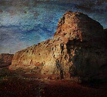 An Ancient City on Jingtai Gobi Desert 03 by Zhaomin