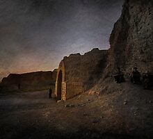An Ancient City on Jingtai Gobi Desert 02 by Zhaomin