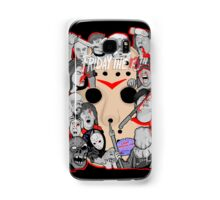 Friday the 13th collage Samsung Galaxy Case/Skin