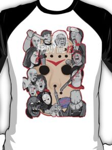 Friday the 13th collage T-Shirt