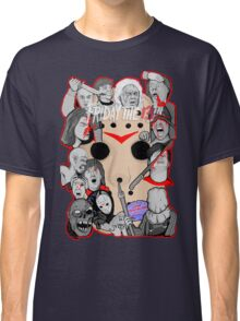 Friday the 13th collage Classic T-Shirt