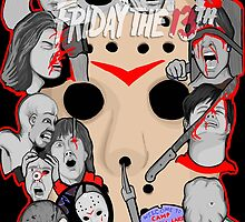 Friday the 13th collage by gjnilespop