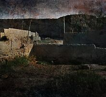 An Ancient City on Jingtai Gobi Desert 05 by Zhaomin