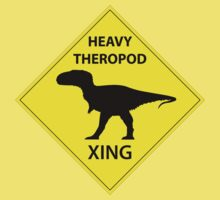 Heavy Theropod Xing Sign Kids Clothes