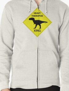 Heavy Theropod Xing Sign T-Shirt