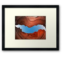 Red Canyon - Negev Framed Print